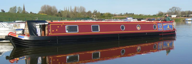 Narrowboat 'Paws4Thought', taken at Aston Marina