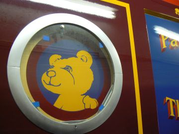 photo of first porthole graphic