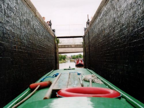 A narrow lock