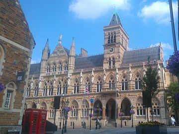 photo of Guildhall building in Northampton