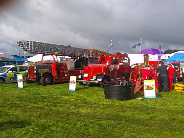 photo of fire engine display