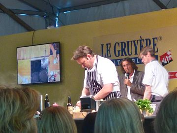 photo of James Martin at work